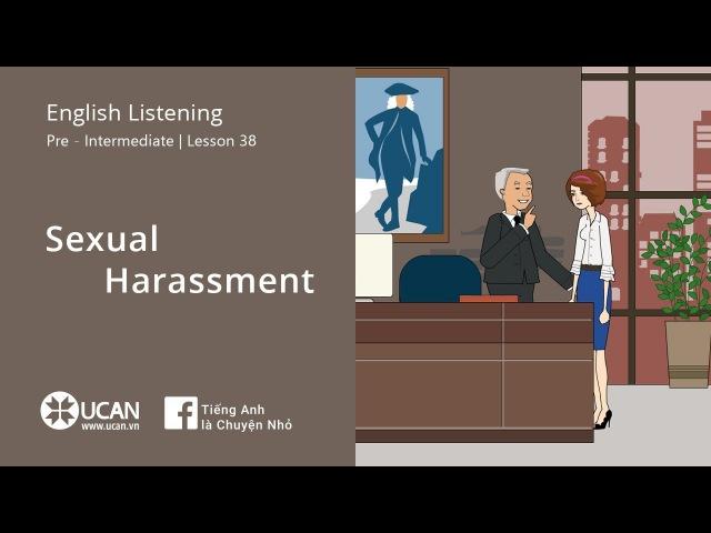 Learn English Listening   Pre-Intermediate - LV3 38. Sexual Harassment