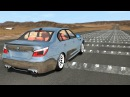 100 Consecutive Speed Bumps High Speed Testing 3 - BeamNG DRIVE