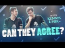 Can They Agree With CSGO players kennyS and NBK-