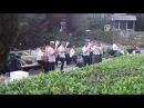 духовой оркестр отеля Ялта-интурист играет знаменитую Катюшу