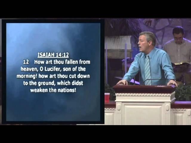 Донни Рейган 2010.05.22 Стремление сатаны ч1.2