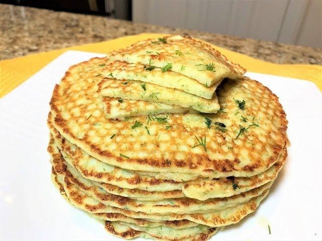 БЛИНЫ а ля Хачапури Самый Вкусный Завтрак для Любителей Сыыыыыра Cheese Pancakes