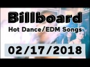 Billboard Hot Dance/Electronic/EDM Songs TOP 50 (February 17, 2018)