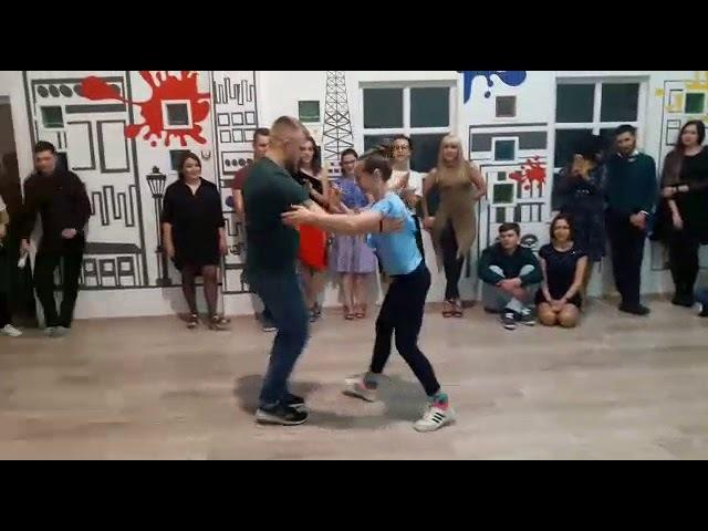Андрей Брюховских и Анфиса Косилко НА СТИЛЕ в Уфе