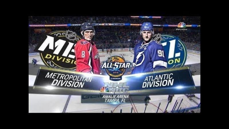 NHL 18 PS4. NHL ALL STAR GAME 2018: METROPOLITAN ALL-STARS VS ATLANTIC ALL-STARS. 01.28.2018.(NBCSN) !