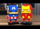 LEGO BrickHeadz - КАПИТАН АМЕРИКА И ЖЕЛЕЗНЫЙ ЧЕЛОВЕК 41492