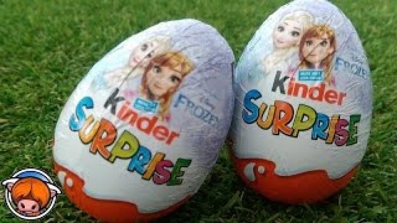 Kinder Surprise Eggs Big JUMBO Mystery Chocolate Eggs! Bing Bunny PJ Masks Compilation