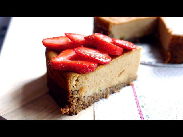 Tofu Cheesecake | Vegan Dessert