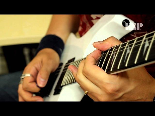 ESP Guitars: LTD M-1000 Ebony SW Demo by Silas Fernandes