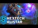 Hextech Alistar Skin Spotlight - Pre-Release - League of Legends