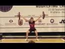 Women U15 69kg - 2017 EUROPEAN WEIGHTLIFTING CHAMPIONSHIPS U15 U17