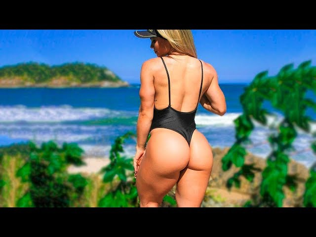 When Fitness Girls Like to Train on the Beach — Workout Motivation