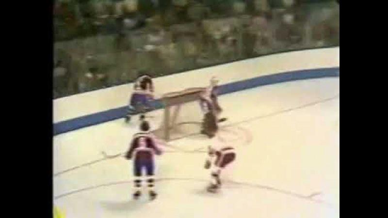 1974 СССР - Канада (WHA) 1-я игра Квебек