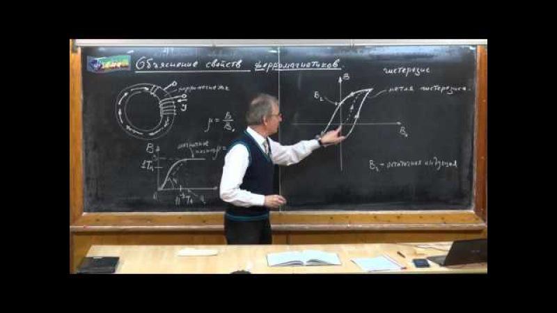 Урок 290. Объяснение свойств ферромагнетиков » Freewka.com - Смотреть онлайн в хорощем качестве