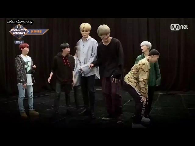 [ENG} 171012 BTS Countdown Danto Danto (Dance Together) Part 2