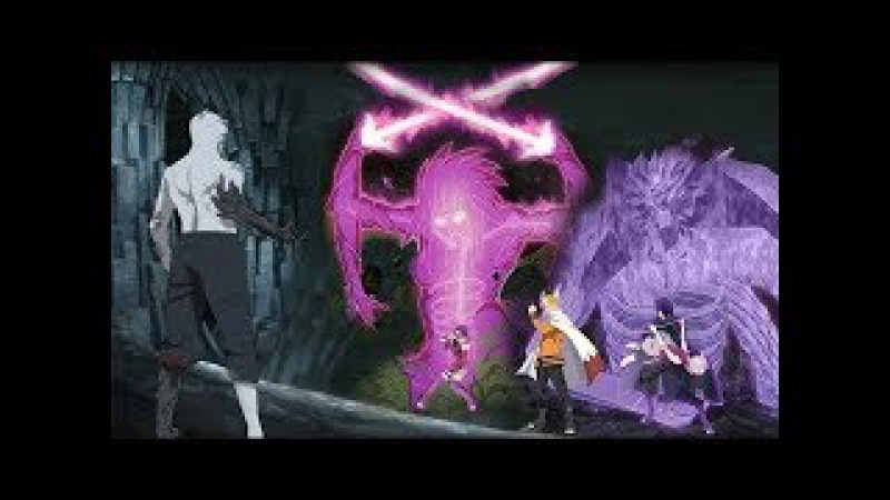 Boruto AMV - Naruto and Sasuke vs Shin Uchiha Full Fight / Square Up
