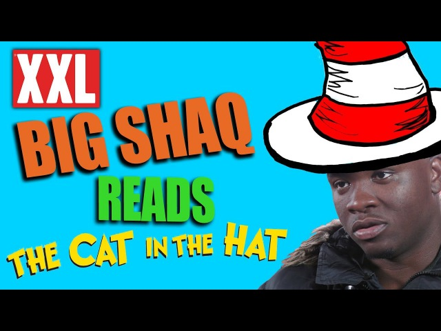 Big Shaq Reads Dr. Seuss' 'The Cat in the Hat' Book