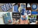 Ideas increíbles sobre Reciclar jeans viejos Best DIY Recycling jeans ideas
