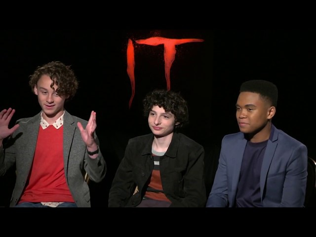 IT Movie Interview - Finn Wolfhard, Wyatt Oleff Chosen Jacobs