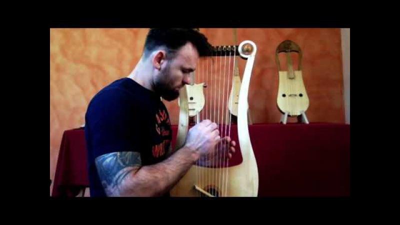 Seikilos Epitaph Improvisation on Tenor Gallic lyre - Benjamin Simao