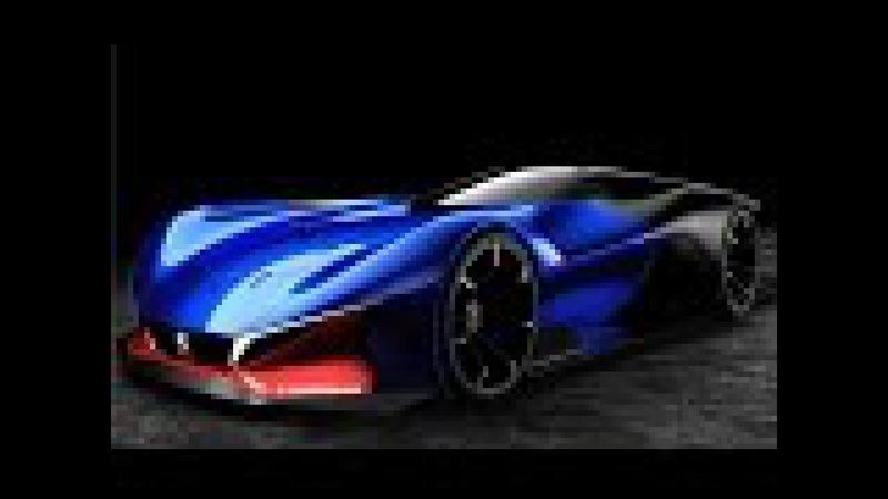 Peugeot L500 R Hybrid Concept - Peugeot Sports Car