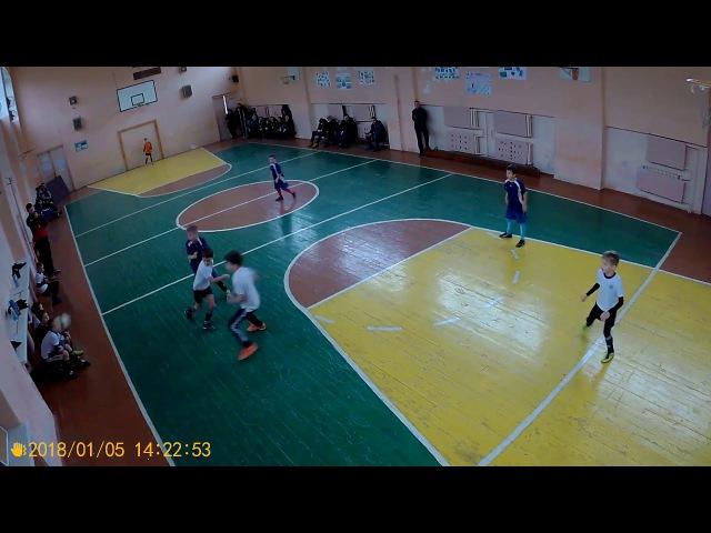 Young Boys-2010 4:7 Аргос-2009 (3 тайм) | 05.01.2018