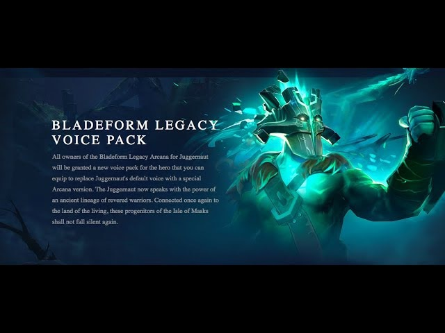 BLADEFORM LEGACY VOICE PACK