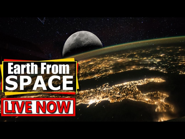 NASA Live Stream - Earth From Space (Full Screen) | ISS LIVE FEED - Debunk Flat Earth