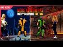 Mortal Kombat 2 (1993) reimagined as a 3D game!