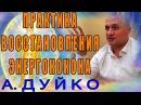 Практика восстановления энергококона Андрей Дуйко школа Кайлас