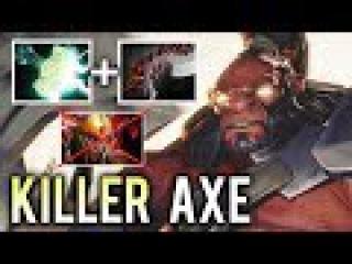 KILLER BUILD Super Carry Axe Abyssal + Mjollnir by Draskyl Godlike Dota 2