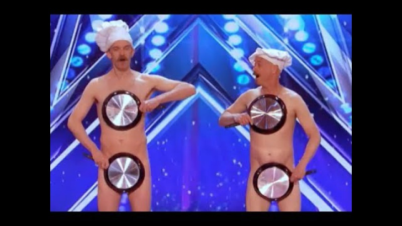 Literally Men With Pans With A Little Surprise   Week 4   Americas Got Talent 2017