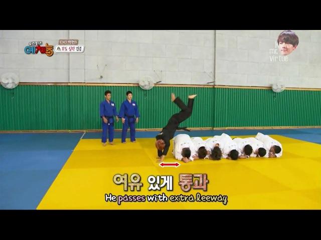 BAEKHYUN EXO - Hapkido skills CUT Cool Kiz on the Block