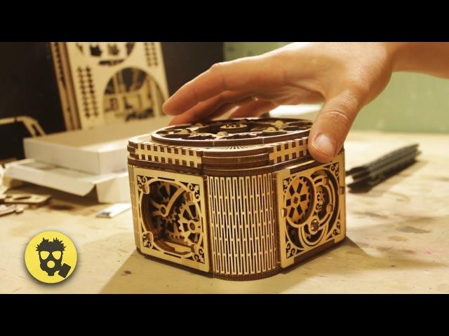 Обзор на деревянную шкатулку с секретом UGEARS » Freewka.com - Смотреть онлайн в хорощем качестве