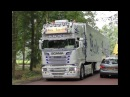 Best of Scania V8 open pipes Sound 2017 4K UHD
