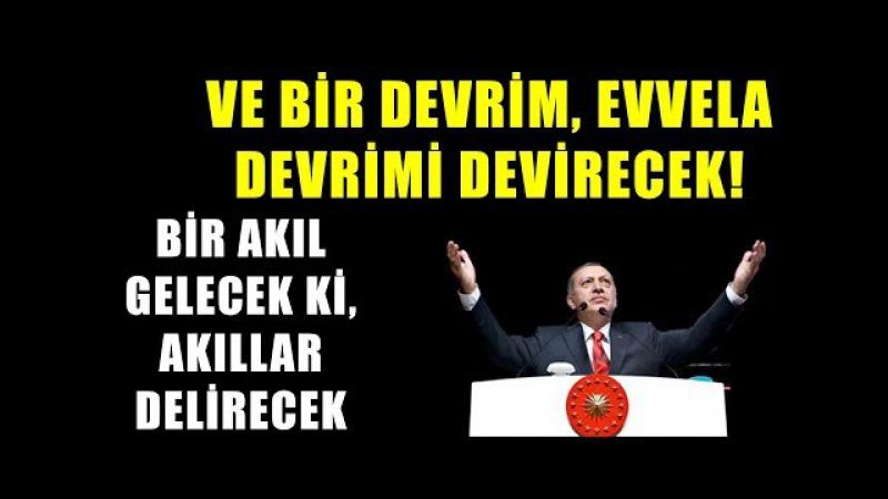 Erdoğan, Hz. Mehdinin Gelişini Anlattı