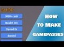 How to make Gamepasses In Roblox!! Zeds Dev Product Kit Ep 2
