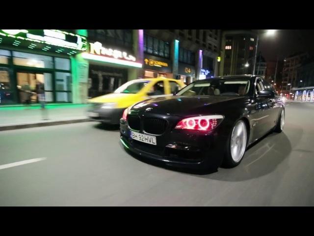 Shahmen - Van Gogh's Crows / LOW BMW 7 Series w⁄ Vossen Wheels