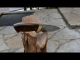 Making a Hunting Knife From a Circular Saw Blade (Common Tools)