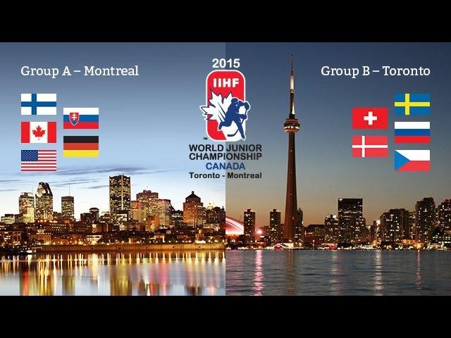 Хоккей США - Россия Молодёжный чемпионат мира 2015