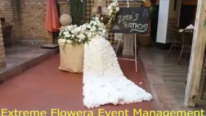The Best Flowers Event services in Pakistan, Extreme Flowers Event Management