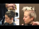 Pixie haircut with undercut - Short Undercut Pixie Hairstyles for Women - tutorial by Barber