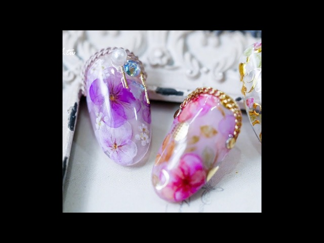 New Amazing ideas for manicure ✔ marble 💋 and flower 🌼 ✔