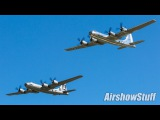 Bomber Parade! B-2B-1B-52B-29B-17B-25 Formation Flybys - EAA AirVenture Oshkosh 2017