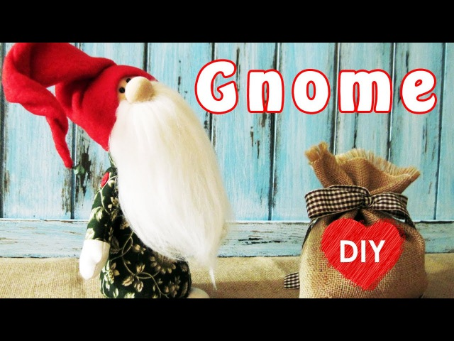 How to sew a Gnome. Christmas DIY.