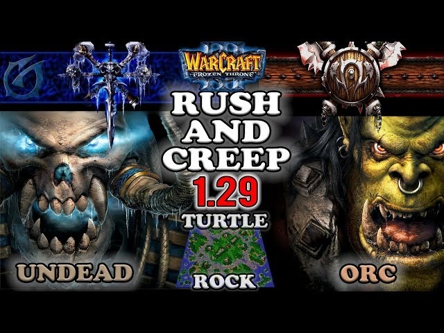 Grubby | Warcraft 3 The Frozen Throne | UD v OR- Rush and Creep - Turtle Rock