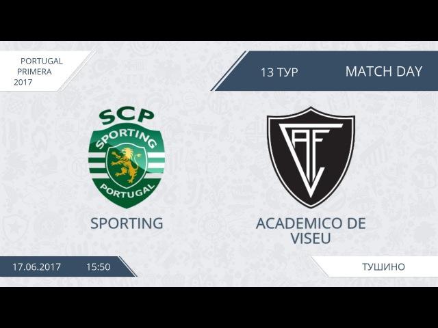 AFL17. Portugal. Primera. Day 13. Sporting - Academico de Viseu