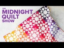 Reunion Tiled Stars Quilt | Midnight Quilt Show with Angela Walters