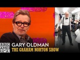 Gary Oldman Is Winston Churchill Dancing as James Brown - The Graham Norton Show
