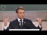 Discours d'Emmanuel Macron au sommet One Planet pour le climat 12.12.2017